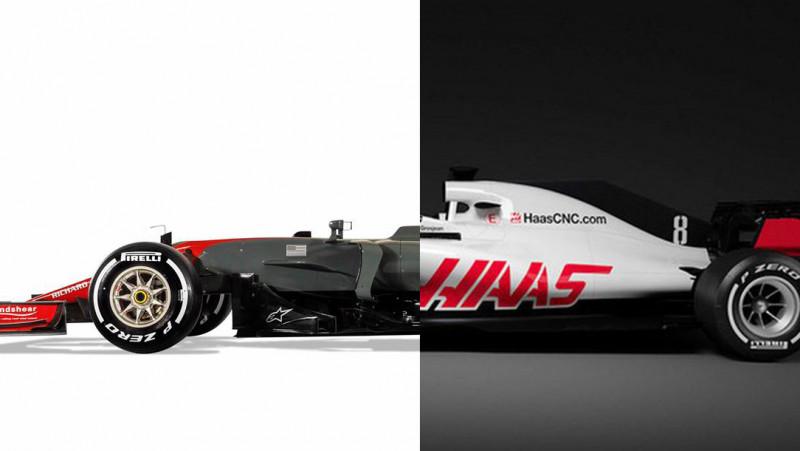 Slider Vergelijk De Formule 1 Auto Van 2018 Met Die Van Vorig Jaar